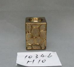 Electrogilding Gouden Vaas van de Keramiek