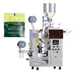 Automatischer Kleinungeheftet-Teebeutel mit Marken-und Zeichenkette-Verpackungsmaschine