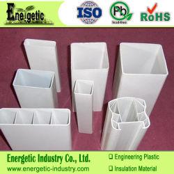 顧客用プラスチックPVC放出のプロフィール、バージン材料、プラスチック放出のプロフィール、プラスチックチャネルの放出、突き出されたプラスチック形