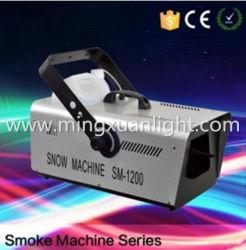 La phase d'effets spéciaux de 1200W Snow Machine neige DMX Making Machine