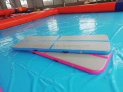 Stuoia di galleggiamento gonfiabile, stuoia di salto gonfiabile della pista di aria