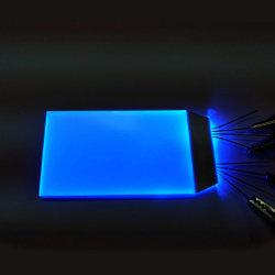 Fait en usine de petite taille Backight EL LCD couleur orange