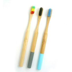 Eco-Friendly Custom-logo Bamboo-tandenborstel hoogwaardige producten milieubescherming Duurzaam