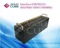 可変性USB 16の港GSM GPRS SMSの変復調装置のプールImie