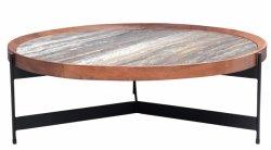 Alta Qualità Marmo Top Tavolino Noce Legno