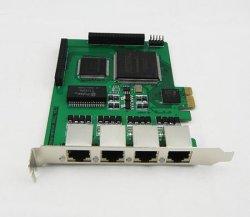 4E1 astérisque carte PRI E1, Te420, Issabel astérisque PCIE