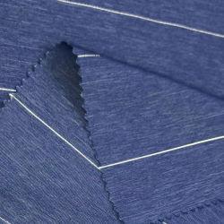 100% بوليستر ستفصل قماش أمليتي شريب كلوب جاكار الذي يسمح بمرور الهواء لسترة Windbreaker