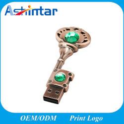 Mini-Metal disco flash USB Key Shape Stick USB