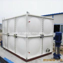 Panel de plástico reforzado con fibra de gran volumen del depósito de agua recipiente de agua