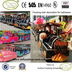 Fwulong Outdoor Electric Tourist Road Train для Sale