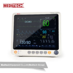 "Meditech Professional Portable12.1"" Monitor de Paciente Multi-Parameter"
