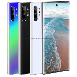 금요일 까만 판매 새로운 Cellphonr 주 10+ 이동할 수 있는 2K 스크린 6.8inch 인조 인간 저가 이동 전화 3G Smartphone