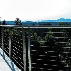 Traliewerk van de Kabel van de Hand van het roestvrij staal het Traliewerk Gegalvaniseerde