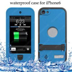 El agua /nieve/suciedad/carcasa a prueba de choque para el iPhone 6