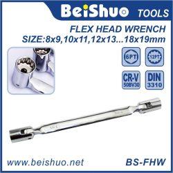 Chiave a bussola flessibile della doppia estremità Hex