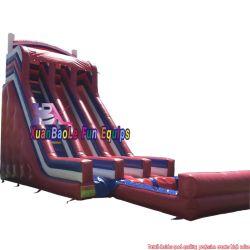 2020 Nouveau Cheap Backyard Kids de l'été de l'eau gonflable diapositive avec la piscine de deux voies Screamer Diapositive