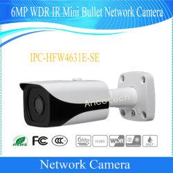 Dahua 6MP широкий динамический диапазон ИК мини-Bullet сети водонепроницаемая камера (IPC-HFW4631E-SE)