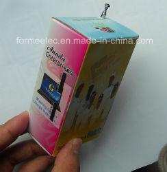 Il mini latte promozionale radiofonico del regalo di elettronica di FM inscatola la radio