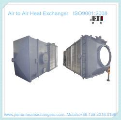 Intercambiador de calor de aire tipo placa de aire para el aire como el calentador de aire