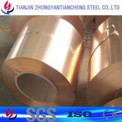 C10100 C11000 bobine en alliage de cuivre dans le stock de matériel de cuivre de la bobine