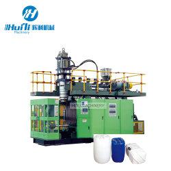20 لترًا 25 لترًا 30 لترًا محطة جيري كان البلاستيكية المفردة آلة صنع البثق يمكن أن تنفجر قناني رضاعة HDPE آلة القوالب
