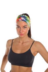 أزياء ملونة الرياضة المرأة أكسسوارات الشعر الملابس الرأسية Hairband