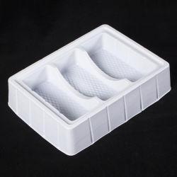 Plaquette thermoformée en PVC personnalisée en plastique blanc insérer des bacs pour outils