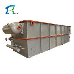 Flottation à air dissous dans des eaux usées industrielles de l'équipement de traitement des eaux usées