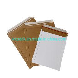Carton personnalisé enveloppe rigide expédition sacs d'expédition enveloppe en papier