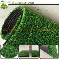 Gazon synthétique plastique 10 mm Décoration maison 15 mm Paysage/pelouse de jardin artificielle Herbe