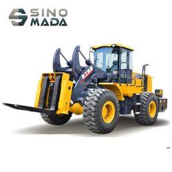 Lw500fn hydraulische wiellader met 5 ton en snelhefinrichting voor vork En bak aan de voorkant