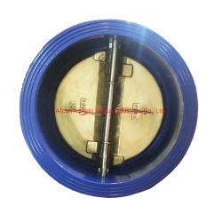 La norme DIN3202 Plaque double clapet Wafer PN 10/PN16 avec ressort