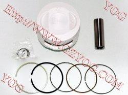 Kit de piston de pièces de rechange du moteur de moto ring kit piston Ybr CG125125 Bajaj Boxer
