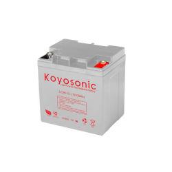 batteria del crogiolo di batteria di svago della batteria della falciatrice da giardino della batteria dell'a cristallo di cavo di 12V 90ah con la garanzia di tre anni