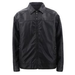 Дизайнер элегантный оптовые дешевые промысел Fashion-смертник тренировки мотоциклов стиле зимнего оригинал подлинной провод фиолетового цвета кожи куртка пружину покрыть черный для мужчин