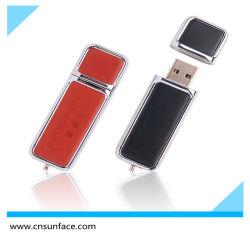 8GB 16GB 32GB 메모리 디스크 가죽 USB 플래시 드라이브 프로모션 선물