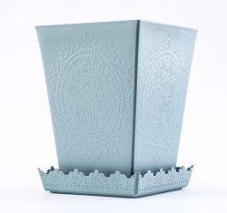 PP 屋内外装飾品ガーデンプランタープラスチック植物花 鍋