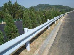 Cerca de la carretera de acero de aluminio de barrera de seguridad a la autopista barandilla