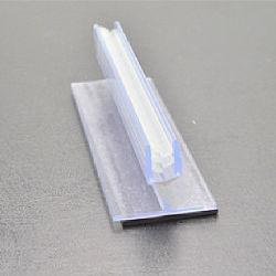 O PVC plástico titular de Extrusão Fast Etiqueta Girp Supermercado Exibir