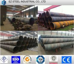 Espiral SSAW de aço soldadas oleoduto para tubo Pilling