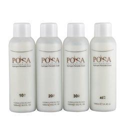 POSA 영구 헤어 컬러 옥서스 크림 전문가용 헤어 과산화물 크림 컬러 현상제(3%, 6%, 9%, 12%)