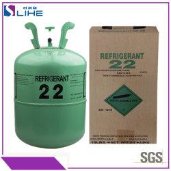 자동차 공기 사기 가스를 위한 100%년 순수성 긴 차가운 냉각제 R22 프레온 가스