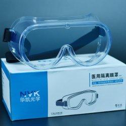 Het Ce Verklaarde FDA Geregistreerde In het klein verkopende Masker van het Oog van de Isolatie van de Bril van de Veiligheid van het Schild van het Oog van het Pakket