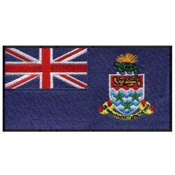 De Kentekens van het Borduurwerk van de Hand van het Flard van de Vlag van Caymaneilanden van de levering