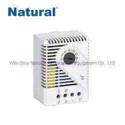 يتحكم مقبض منظم درجة الحرارة بالصندوق الصناعي في منظم درجة الحرارة للسخان و مبرد Fzk 011