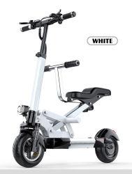 10inch 2wheel 350W 의 500W 무브러시 모터 시트 부모 아이를 위한 싼 가격 E 스쿠터를 가진 Foldable 전기 스쿠터 E 스쿠터