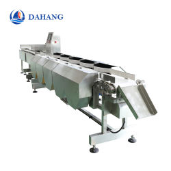 マルチ水平な重量のソート機械かソート装置または等級分け機械