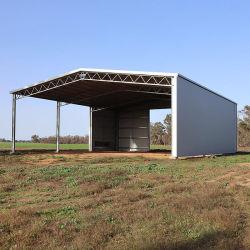 La luz de prefabricados de estructura de acero para construcción de galpón de almacenamiento prefabricados
