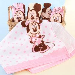 Qualidade superior 100% algodão filhos crianças toalha de mão padrão impresso Dom toalha toalha de praia