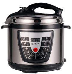 2.8L/4L/5L/6L/8L/10L/12L Home Kitchen aparelho eléctrico de aço inoxidável cozinha pressão múltipla panela elétrica de arroz, Panela de Pressão, panela elétrica de arroz com CB/CE/EMC/RoHS